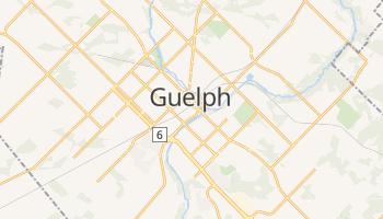 Guelph - szczegółowa mapa Google