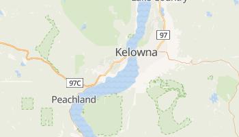 Kelowna - szczegółowa mapa Google