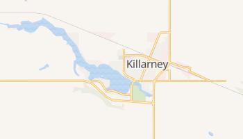 Killarney - szczegółowa mapa Google