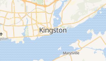 Kingston - szczegółowa mapa Google
