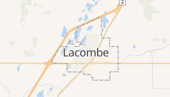 Lacombe - szczegółowa mapa Google