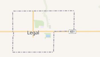 Prawo - szczegółowa mapa Google