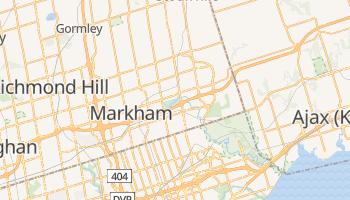 Markham - szczegółowa mapa Google