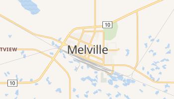Melville - szczegółowa mapa Google