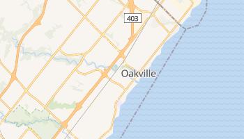 Oakville - szczegółowa mapa Google