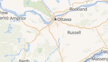 Ottawa - szczegółowa mapa Google