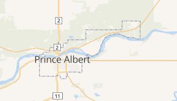 Prince Albert - szczegółowa mapa Google