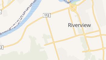 Riverview - szczegółowa mapa Google