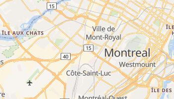 Saint-Laurent - szczegółowa mapa Google