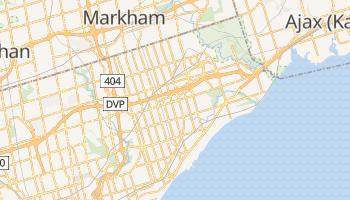 Scarborough - szczegółowa mapa Google