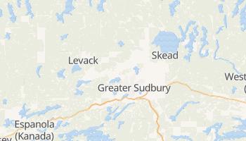 Sudbury - szczegółowa mapa Google