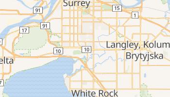 Surrey - szczegółowa mapa Google