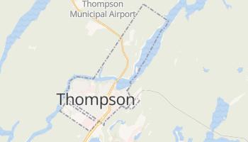 Thompson - szczegółowa mapa Google