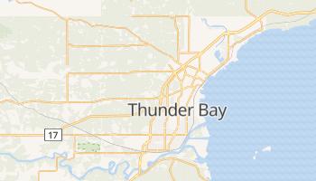 Thunder Bay - szczegółowa mapa Google