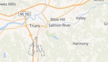 Truro - szczegółowa mapa Google