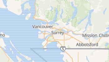 Vancouver - szczegółowa mapa Google