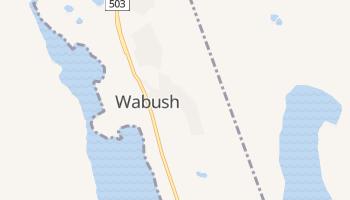 Wabush - szczegółowa mapa Google