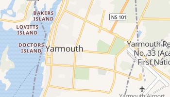 Yarmouth - szczegółowa mapa Google