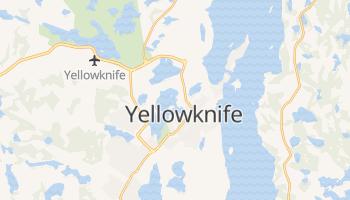Yellowknife - szczegółowa mapa Google