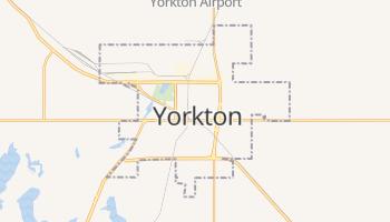 Yorkton - szczegółowa mapa Google