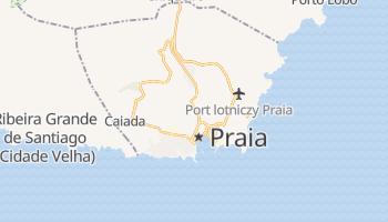 Praia - szczegółowa mapa Google