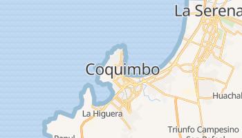 Coquimbo - szczegółowa mapa Google