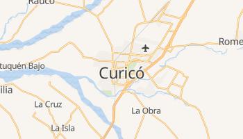 Curicó - szczegółowa mapa Google