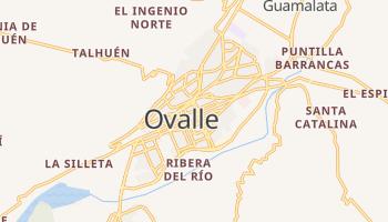Ovalle - szczegółowa mapa Google