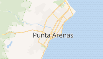 Punta Arenas - szczegółowa mapa Google