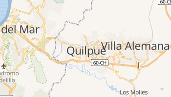 Quilpué - szczegółowa mapa Google