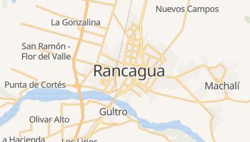 Rancagua - szczegółowa mapa Google