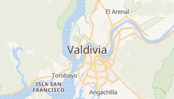 Valdivia - szczegółowa mapa Google