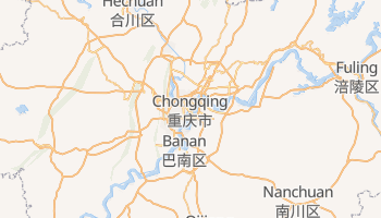 Chongqing - szczegółowa mapa Google