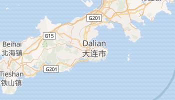 Dalian - szczegółowa mapa Google