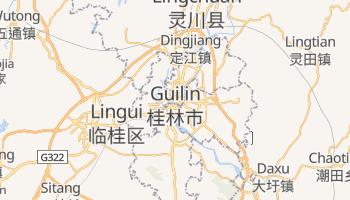 Guilin - szczegółowa mapa Google