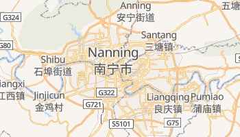 Nanning - szczegółowa mapa Google