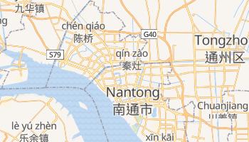 Nantong - szczegółowa mapa Google