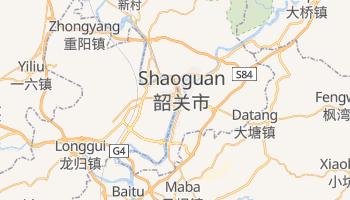 Shaoguan - szczegółowa mapa Google