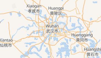 Wuhan - szczegółowa mapa Google