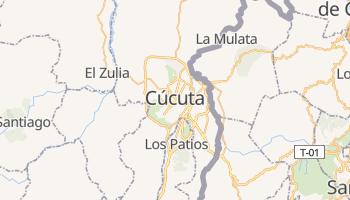 Cúcuta - szczegółowa mapa Google
