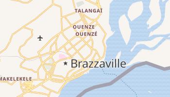 Brazzaville - szczegółowa mapa Google