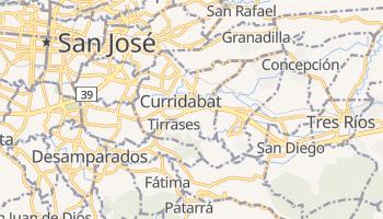 Curridabat - szczegółowa mapa Google