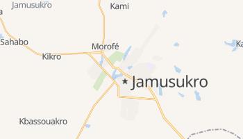 Jamusukro - szczegółowa mapa Google