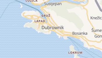 Dubrownik - szczegółowa mapa Google