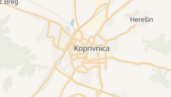 Koprivnica - szczegółowa mapa Google