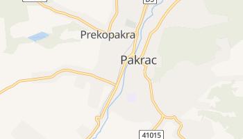 Pakrac - szczegółowa mapa Google