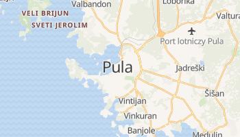Pula - szczegółowa mapa Google