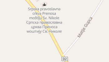 Vukovar - szczegółowa mapa Google