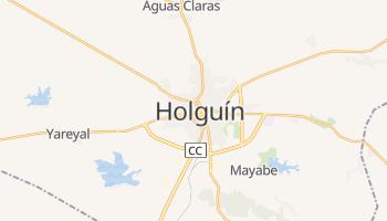 Holguín - szczegółowa mapa Google