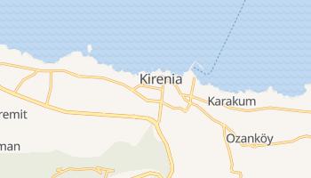 Kirenia - szczegółowa mapa Google